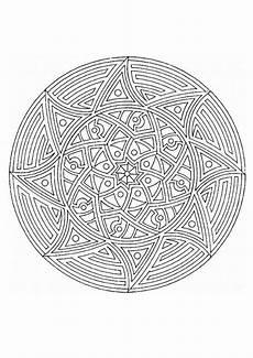 mandalas für experten mandala 52 zum ausmalen de hellokids