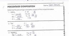 composition worksheets 22751 chemistry percent composition worksheet