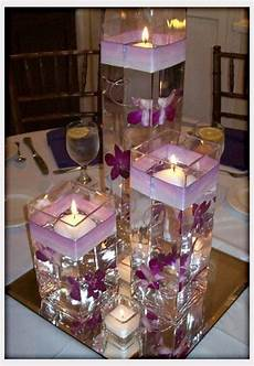 wodnerful diy unique floating candle centerpiece with