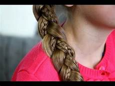 simple braid with braids cute hairstyles youtube