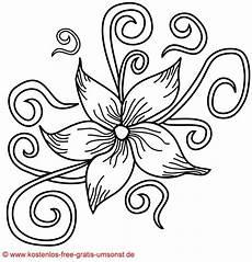 Gratis Malvorlagen Zum Ausdrucken Blumen Flower Kostenlose Blumen Bl 252 Ten Vorlage