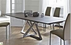 tavoli da soggiorno moderni allungabili tavolo design allungabile millennium di bontempi arredo