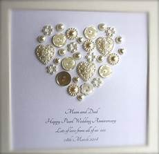Pearl Wedding Anniversary Gift Ideas For Parents