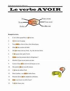 worksheets for verb etre 19140 le verbe avoir worksheet and key by always academic tpt