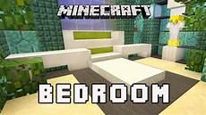 Minecraft Schlafzimmer Modern - minecraft tutorial how to make a modern bedroom design