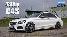 2018 Mercedes Amg C43 430hp Drive Sound 60fps