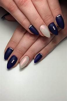 35 trendy dark blue nail art designs for 2019 styles art