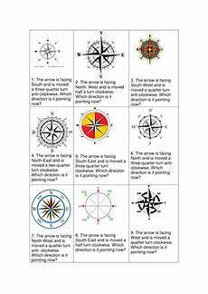 compass directions ks2 worksheets 11720 ks2 math challege cards with answers by uk teaching resources tes