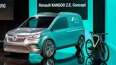 renault electric 2019 renault presents new electric kangoo z e concept