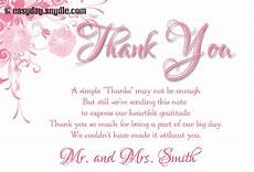 Wedding Gift Thank You Wording wedding thank you card wording sles easyday