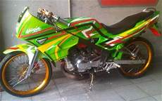Modifikasi R 2004 by Modifikasi Kawasaki R 2004 Airbrush Inspirasi