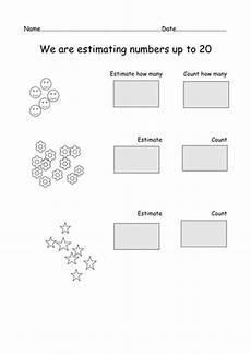 estimation worksheets reception 8259 y1 estimating worksheets by mrsdeee teaching resources tes