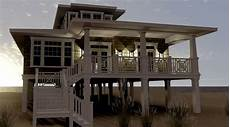 beach house plans on stilts modern house plans stilts plan elevated beach pilings