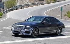 2018 Mercedes C Class W205 Facelift Has Slimmer