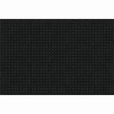 Black Rubber Door Mats Outside by 48x72 In Large Black Recycled Rubber Commercial Door Mat