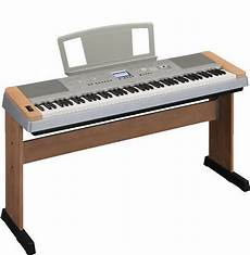 Yamaha Dgx640 C Cherry 88 Key Digital Piano Keyboard Stand