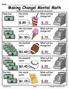 free printable making change money worksheets 2 versions money worksheets learning money