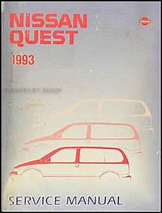 how to download repair manuals 1993 nissan quest seat position control 1993 nissan quest van repair shop manual original