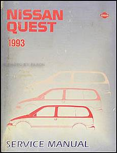 how petrol cars work 1993 nissan quest parking system 1993 nissan quest van repair shop manual original