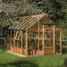 Serre De Jardin En Verre Et En Bois Tr 232 S 233 L 233 Gante Serre