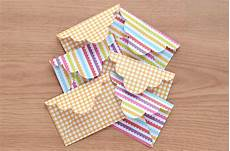 mini scalloped envelope diy with template polka dots are