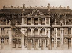 Château De Versailles Architectes Elevation Of The Cour De Marbre Versailles The Ch 226 Teau
