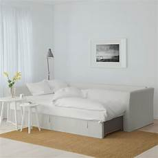 ikea dorsten holmsund sleeper sectional 3 seat orrsta light white