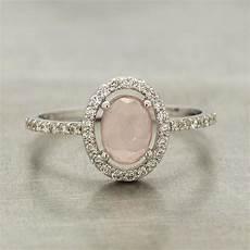 rose quartz wedding ring rose quartz engagement ring juliet oliver