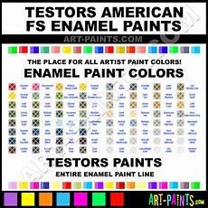 testors american fs enamel paint colors testors american fs paint colors american fs color