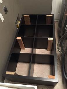 Converting An Ikea Kallax Book Shelf Into A Washer Dryer