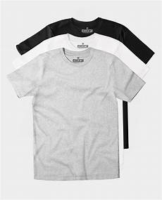 t shirt multipack 3 plain crewneck ringspun cotton t shirts allriot