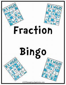fraction bingo worksheets 3859 fraction bingo printable worksheet with answer key lesson activity amazingclassroom