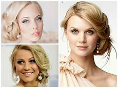 15 ideas of wedding hairstyles for hair and oval face