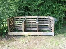 aus europaletten bauen komposter selber bauen anleitung in einfachen schritten
