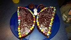 Schmetterlingskuchen Kindergeburtstag
