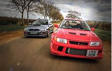 Subaru Or Evo by Road Test Mitsubishi Lancer Evo Vi Tme Vs Subaru Impreza
