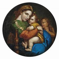 raffaels vintage after raphael sanzio called raphael the madonna della