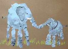handabdruck bilder tiere die besten 25 elefant basteln ideen auf