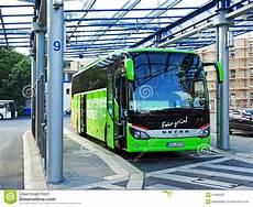 Coach Of Meinfernbus Flixbus In Chemnitz Editorial