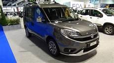 2016 Fiat Doblo Trekking Exterior And Interior