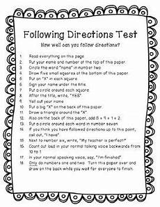following directions worksheets for 2nd grade 11808 pin on skool phun