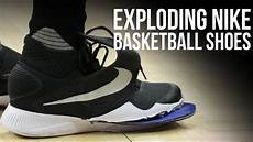 exploding nike basketball shoes cut compilation