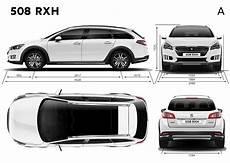 Peugeot 508 Dimensions Peugeot 508 Rxh 2014 2015 2016 2017 Autoevolution