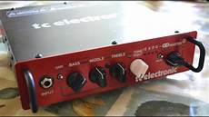 tc electronics bh250 tc electronic bh250 demo and review