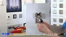 Steckdose Und Schalter Anschließen - serienschalter schalterwechsel leichtgemacht