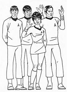 trek coloring pages at getdrawings free