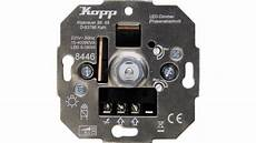 kopp 844600004 unterputz dimmer geeignet f 252 r leuchtmittel