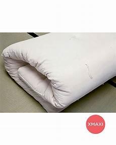 futon materasso woodly materasso futon xmaxi 120 x 200 cm 100 puro
