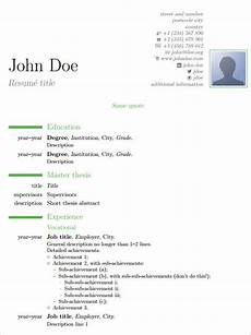 15 latex resume templates pdf doc free premium