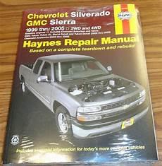 online car repair manuals free 2005 gmc sierra 1500 electronic throttle control new haynes 24066 repair manual chevy silverado gmc sierra 1999 2005 chevy silverado chevrolet